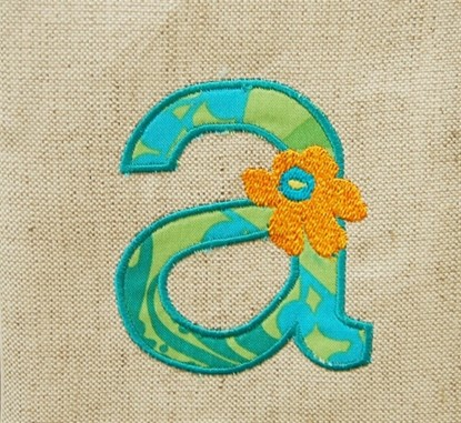 Picture of Flowered Applique